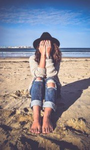Woman on Beach Past Life Regression