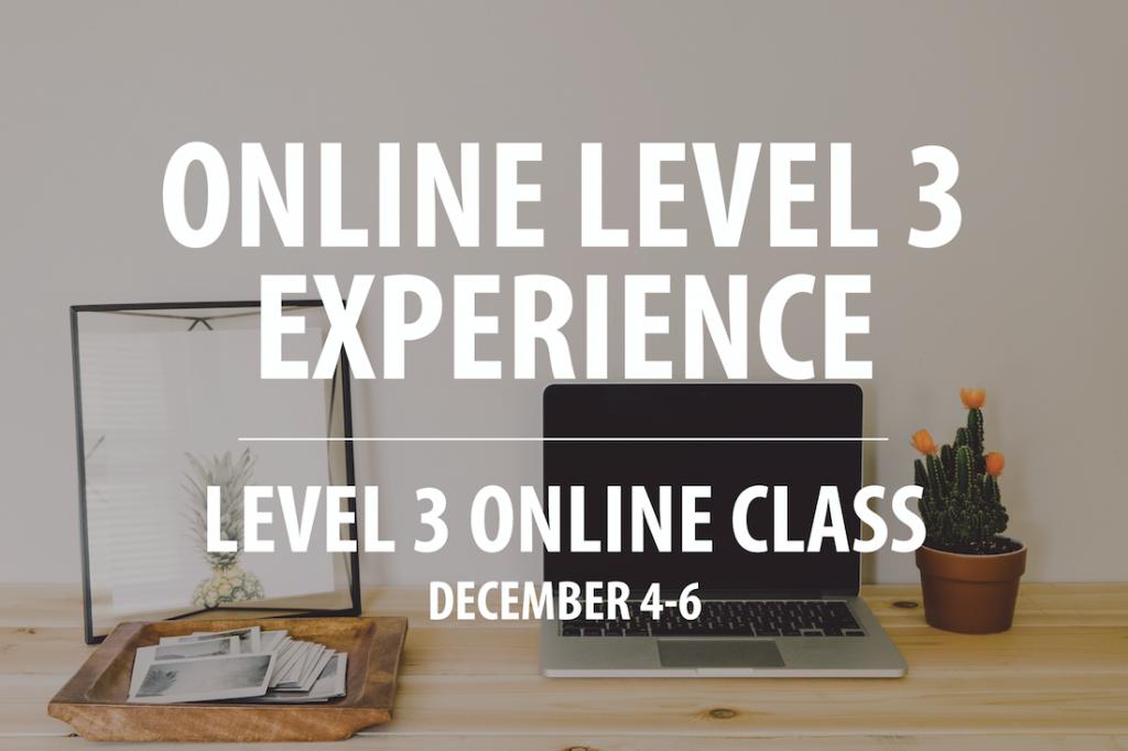 Live Level 3 Header Image for December