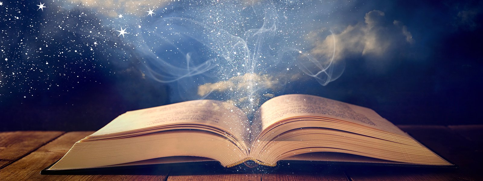 Book open for Akashic Records
