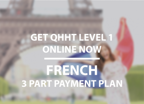 Level 1 Online French 3 Part Payment Plan