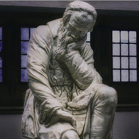 Statue of Nostradamus QHHT