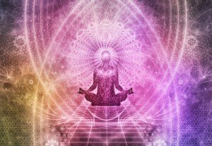 The chakras of the body