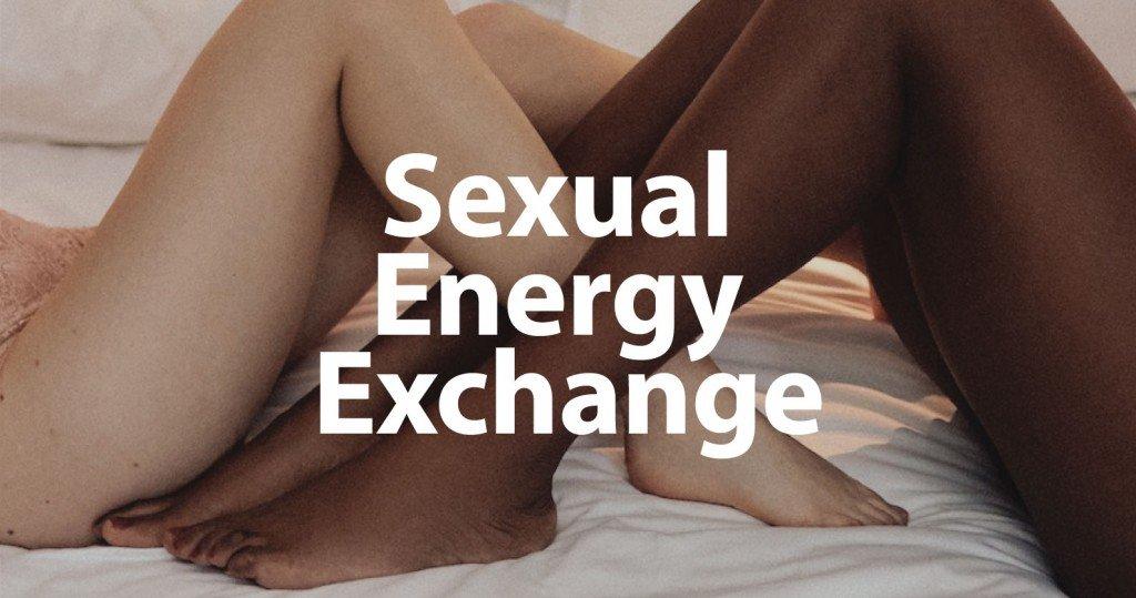 Sexual Energy Exchange Legs Entangled Title Image