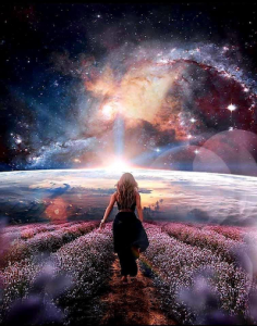 Woman on Astral Plane
