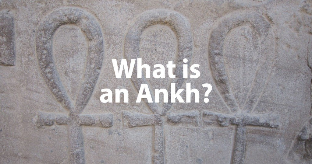 What is an Ankh Header Image in Stone