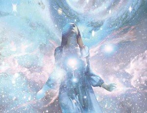 Woman in the Stars Astral