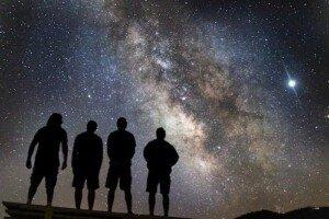 4 Starseeds under The Night Sky