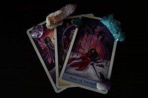 9 of swords Tarot Cards