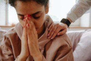Girl Experiencing Delayed Grief
