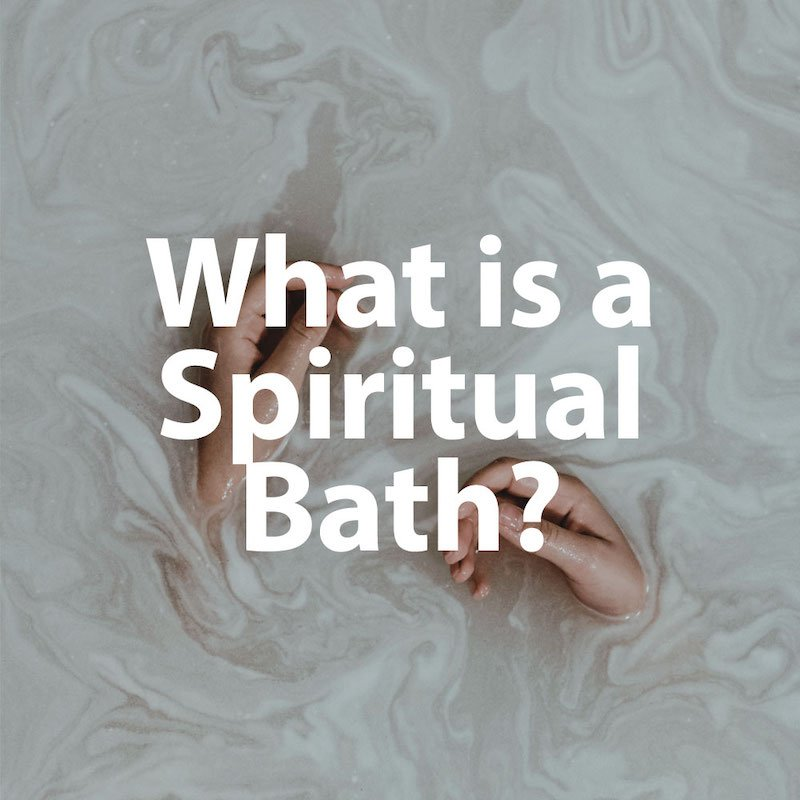 What is a Spiritual Bath QHHT
