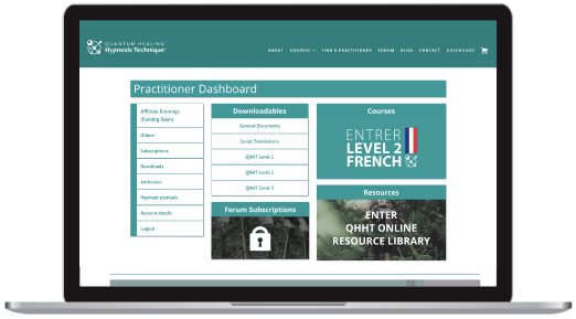 Level 2 French Dashboard Screenshot Laptop