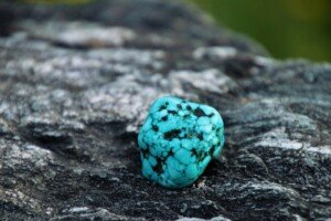 Bright Turquoise Rock