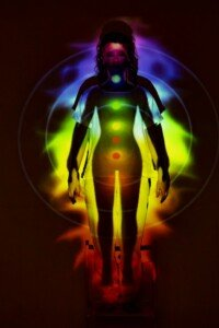 Root Chakra Location Projection