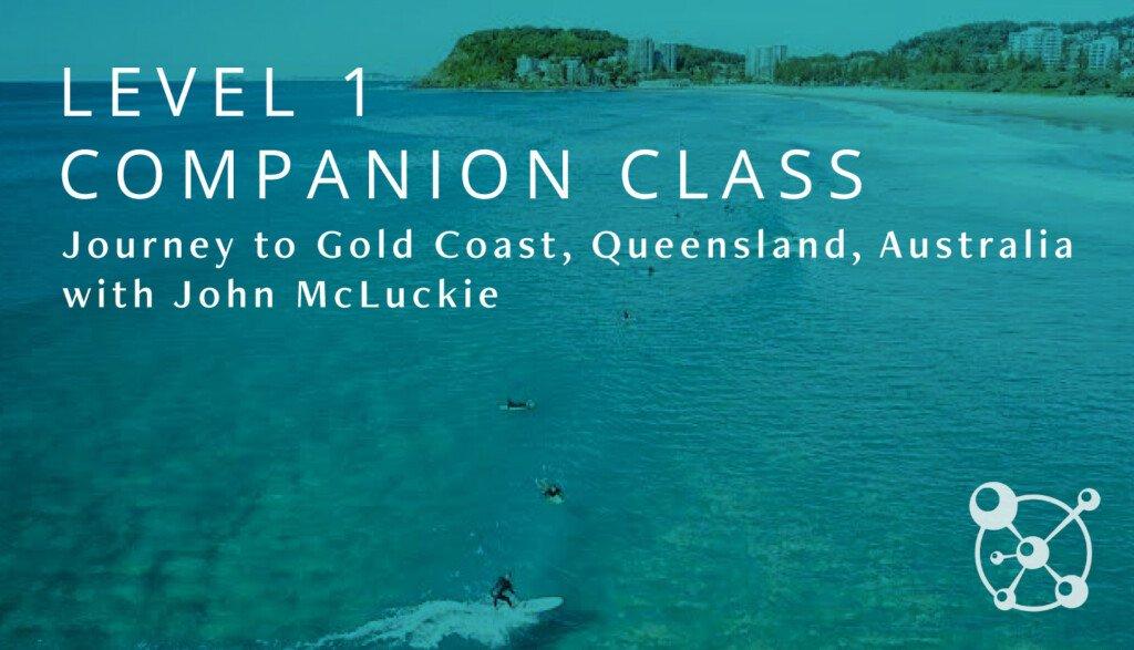 Level 1 Companion John McLuckie Australia