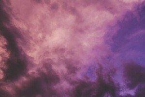 Pink Smoky Sky