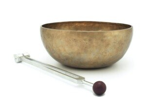 Tuning Fork and Sound Bowl