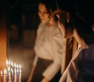 Twin Flame in Mirror